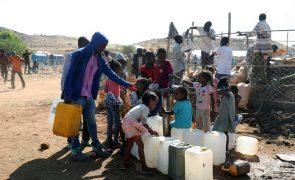 Cerca de 5.000 crianças separadas das famílias devido ao conflito na Etiópia