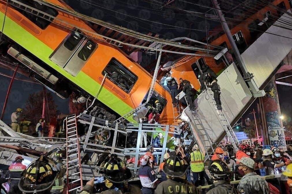 Acidente em metro no México provoca 23 mortos e 70 feridos [vídeo]