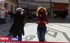 Conceição Queiroz atacada em direto: «Vai trabalhar para as obras» [vídeo]