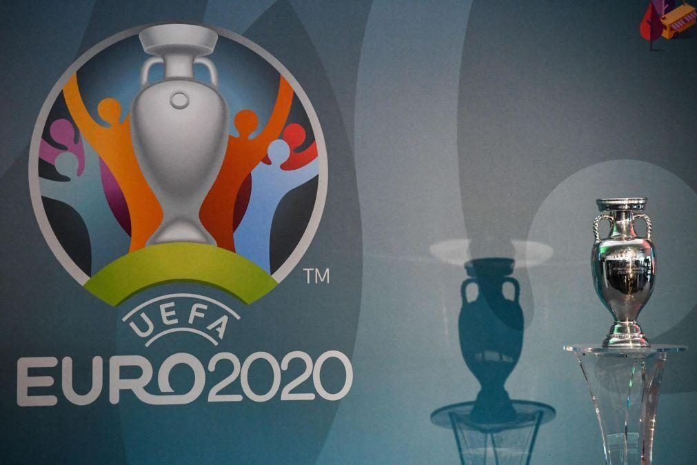Covid-19: UEFA autoriza seleções a convocarem 26 jogadores para Euro2020