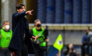 Treinador Paulo Fonseca deixa a Roma no final da época