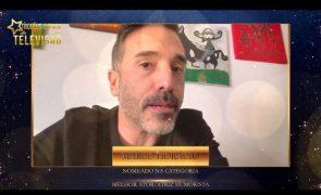 Troféus Impala de Televisão 2021 Marco Horácio agradece nomeação para Melhor Ator/Humorista