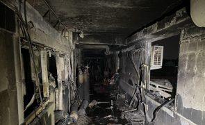 Ministro da Saúde iraquiano demite-se por causa de incêndio num hospital