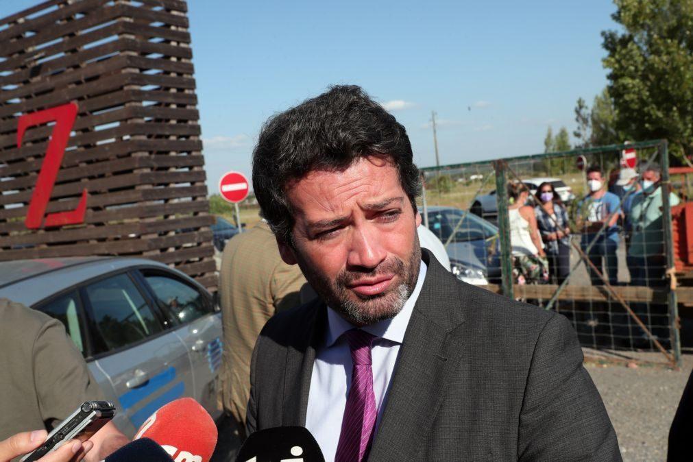 André Ventura pede demissão do ministro da Administração Interna