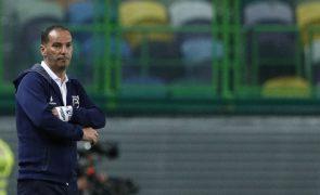 Treinador Petit suspenso por 15 dias, Belenenses SAD vai recorrer