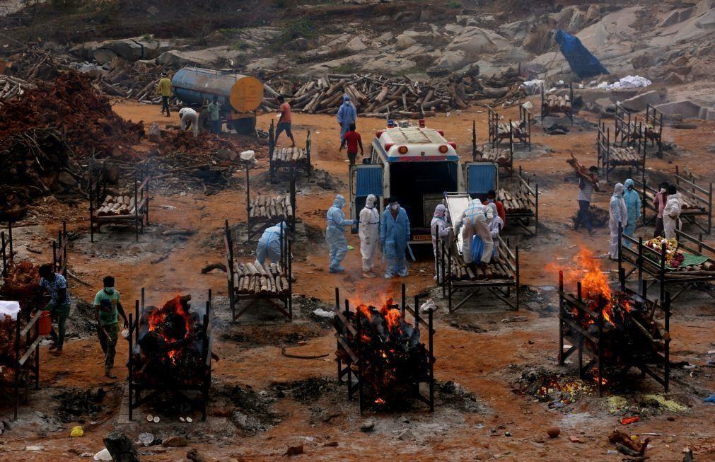 Covid-19: Índia com 3.780 mortos e 382.315 casos em 24 horas