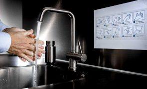 DGS aposta na mensagem da higiene das mãos como os