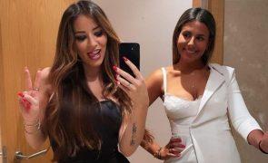 Joana e Jéssica Nogueira unem-se depois de se