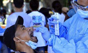 Covid-19: Timor-Leste regista segundo pior dia desde o início da pandemia com 133 casos