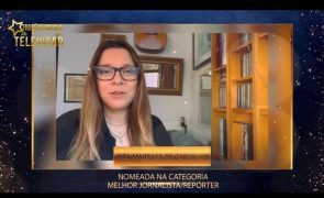 Troféus Impala de Televisão 2021: Rita Marrafa de Carvalho agradece nomeações
