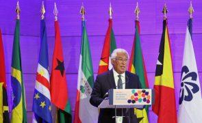 António Costa destaca importância do acordo de mobilidade da CPLP para promover português