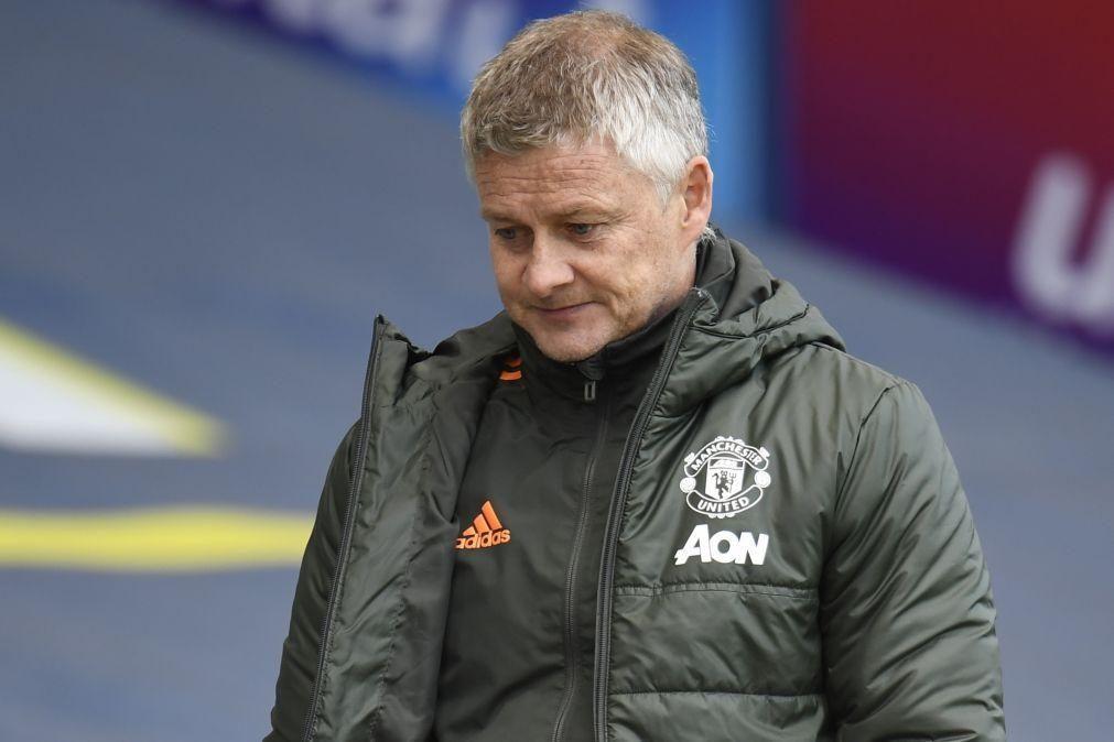 Solskjaer pede aos adeptos do Manchester United para se conterem nos protestos