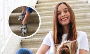 Joana Mota cria marca portuguesa se calçado artístico