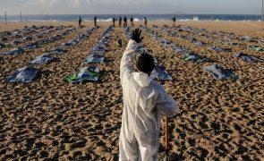 Covid-19: Brasil aproxima-se dos 15 milhões de casos e de 415 mil mortos
