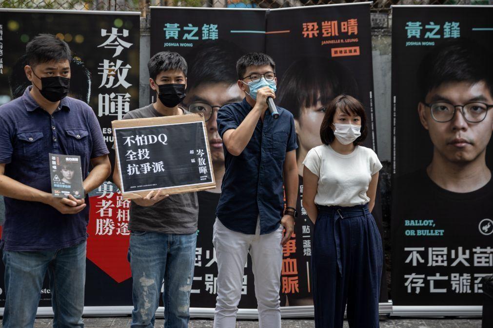 Hong Kong: Ativista Joshua Wong condenado a mais dez meses de prisão