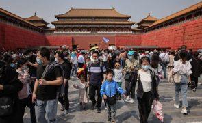 Covid-19: China com cinco casos em 24 horas, todos oriundos do exterior