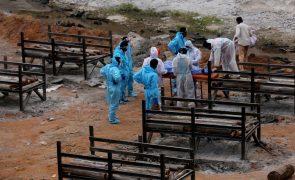 Covid-19: Índia com 3.980 mortos e 421.262 casos em 24 horas