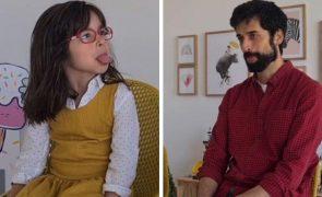António Raminhos partilha conversa hilariante com a filha