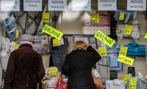Vendas a retalho sobem em março na zona euro mas Portugal regista 2.º maior recuo