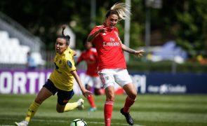 Futebolista brasileira Darlene termina ligação ao Benfica