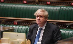 Boris Johnson apela à obrigação moral dos países ricos para com alterações climáticas