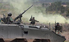 Exercício internacional Orion envolve 1650 militares e 200 viaturas em território português