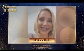Luciana Abreu agradece nomeações para Troféus Impala de Televisão