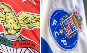 Benfica e FC Porto empatam a uma bola [veja os golos e os lances polémicos]