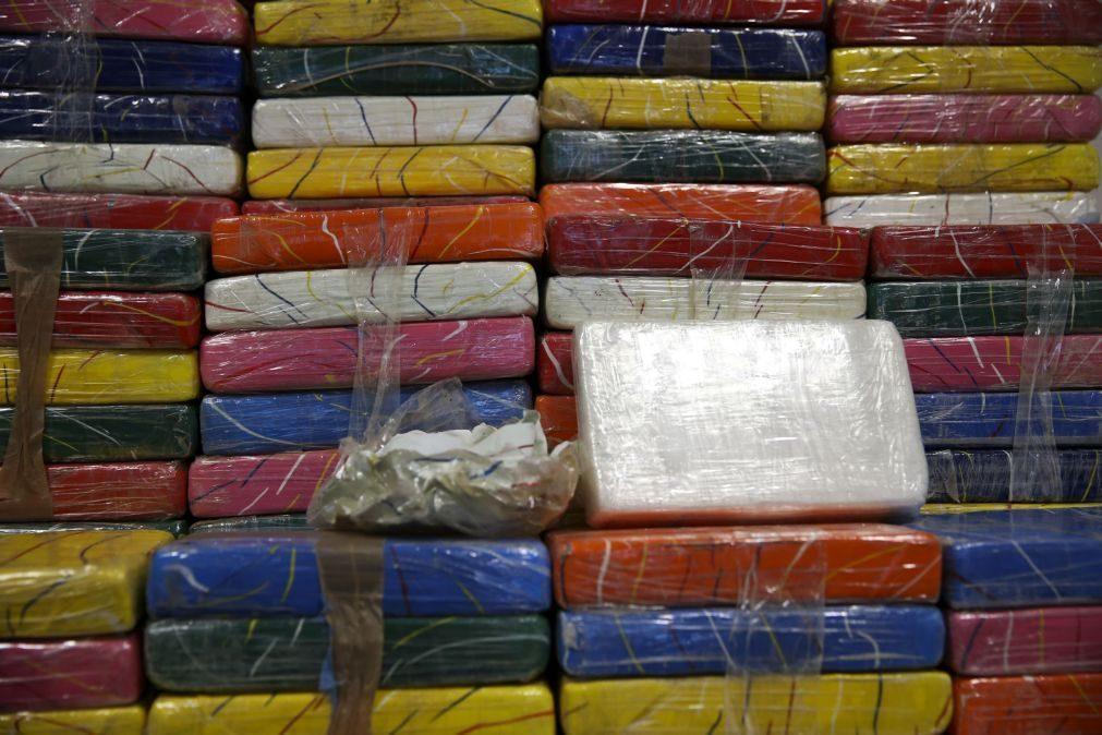 PJ apreende 167 quilos de cocaína e detém quatro homens no sul do país