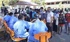 Covid-19: Timor-Leste regista quinta morte e segundo maior número de infeções