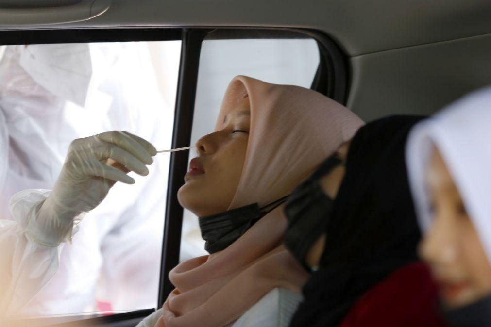 Covid-19: Quase 3,3 milhões de mortos e 156,7 milhões de infeções desde o início da pandemia