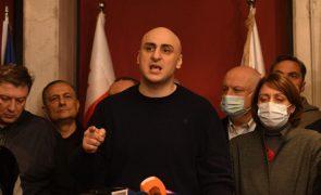 UE paga caução para libertação do georgiano Nika Melia