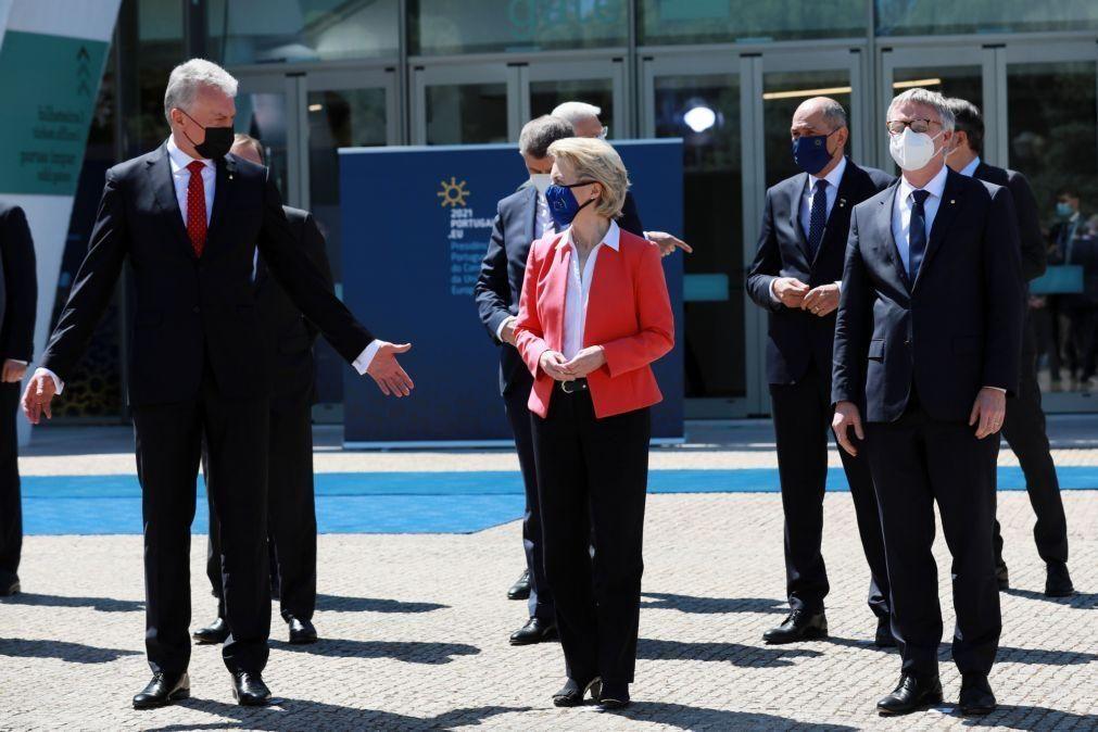 UE/Presidência: Von der Leyen quer Europa focada em