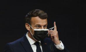 Macron diz que debate sobre fundo da UE deve ser feito no