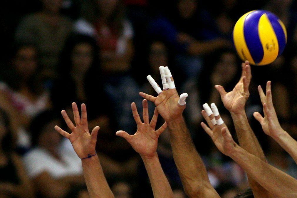 Portugal bate Noruega na qualificação para o Europeu de voleibol