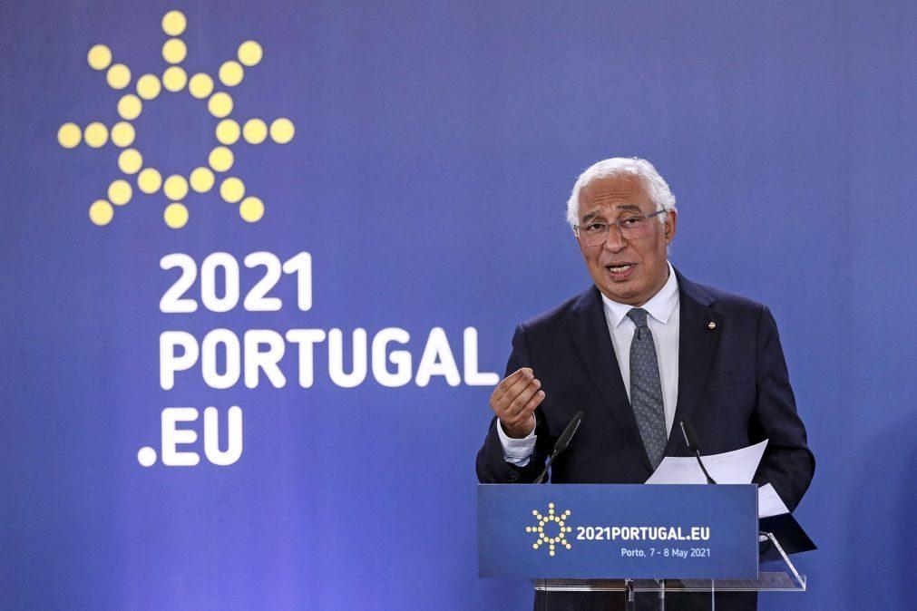 UE/Presidência: Estamos a fazer um trabalho discreto sobre salário mínimo europeu, diz António Costa