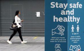 Covid-19: Reino Unido regista cinco mortes e 2.047 novos casos