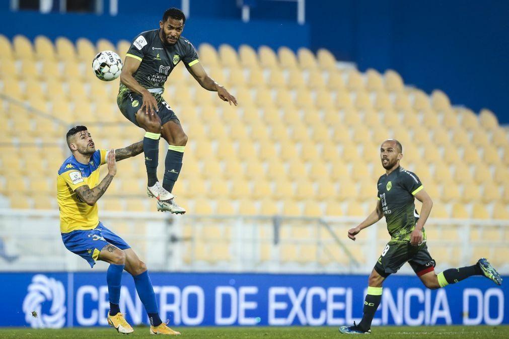 Estoril falha festa antecipada do título com empate contra o Desportivo de Chaves