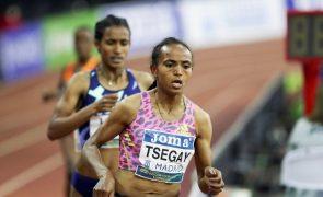 Etíope Tsegay faz na Maia melhor marca mundial nos 10.000 metros femininos
