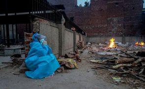 Covid-19: Índia com mais de 400 mil infeções pelo quinto dia consecutivo