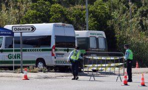 GNR trava entrada a 52 trabalhadores no interior da cerca sanitária em Odemira