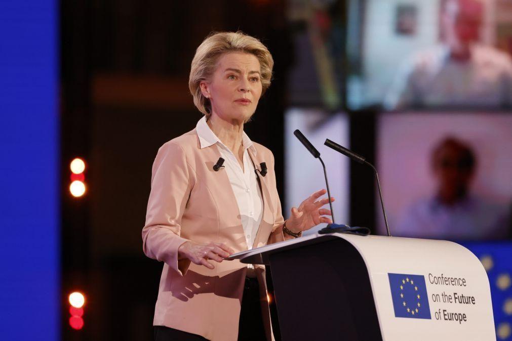 Von der Leyen e Sassoli desafiam cidadãos a ter voz ativa no futuro da UE