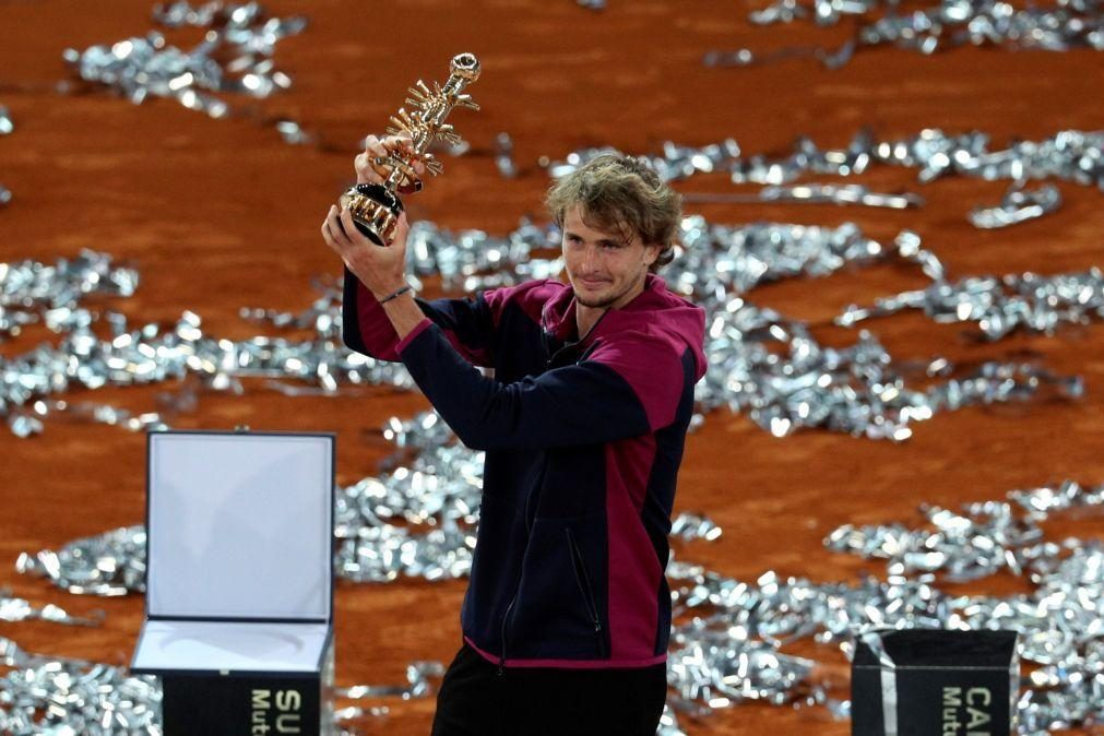 Zverev supera Berrettini e conquista Masters 1.000 de Madrid pela segunda vez