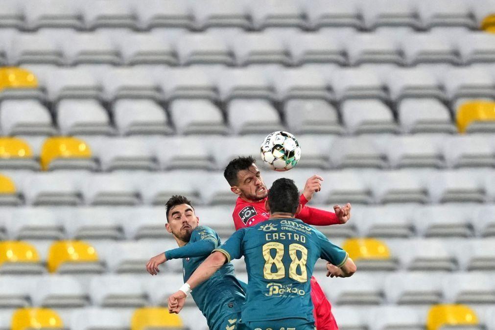 Sporting de Braga empata e oferece terceiro lugar ao Benfica [vídeo]