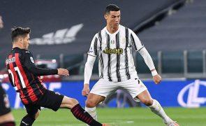 Juventus, de Cristiano Ronaldo, sofre derrota pesada frente ao AC Milan