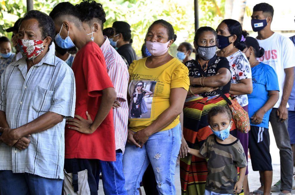 Covid-19: Casos diários podem chegar aos 1.800 sem medidas preventivas em Timor-Leste