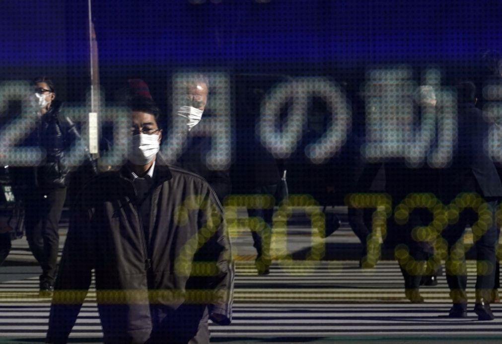 Bolsa de Tóquio fecha a ganhar 0,55%