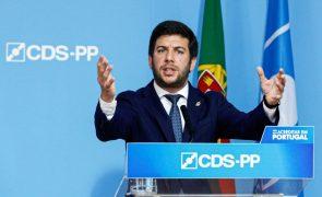 Líder do CDS-PP exige ao PM pedido de desculpas sobre twitte de João Galamba