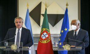 Covid-19: Portugal dá total apoio à Argentina para que FMI suspenda o spread da sua dívida