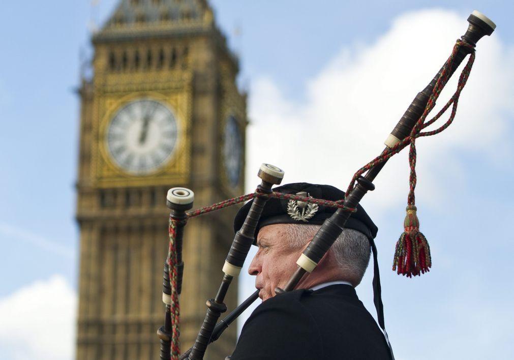Covid-19: Quatro mortes no Reino Unido confirmam pandemia em recuo